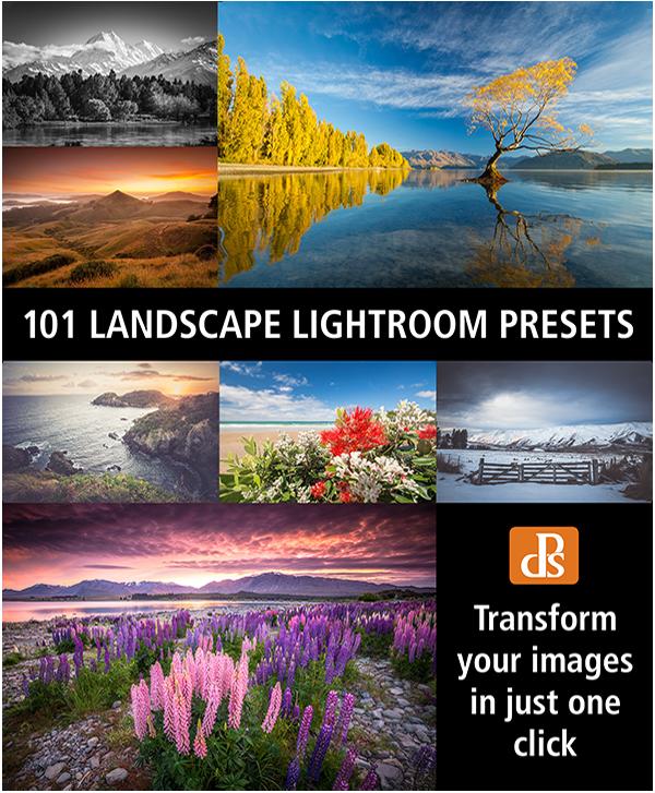 101 LANDSCAPE LIGHTROOM PRESETS - Digital Photography School Resources