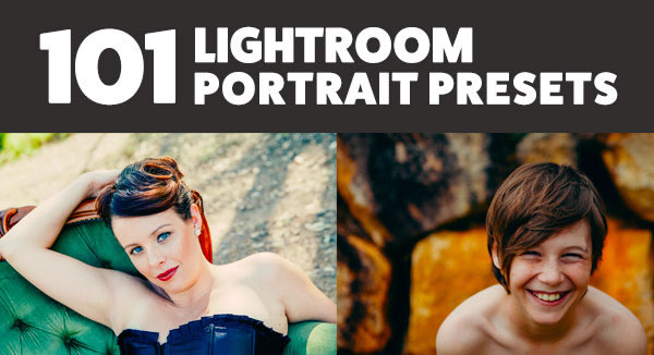 101 Lightroom Portrait Presets