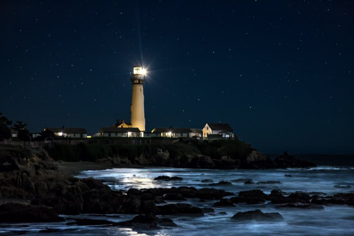 Lighthouse Night Photography